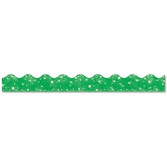 "TREND Terrific Trimmers Sparkle Border, 2 1/4"" x 39"" Panels, Green, 10/Set"