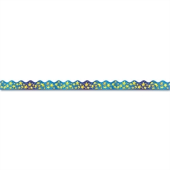 "Terrific Trimmers Bright Border, 2 1/4"" x 39"" Panels, Star Brights, 12/Set"