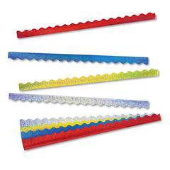Terrific Trimmers Sparkle Border Variety Pack, 2 1/4 x 39 Panels, Asstd, 40/Set