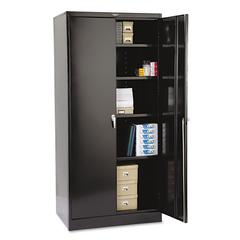 "78"" High Deluxe Cabinet, 36w x 24d x 78h, Black"