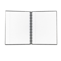 Royale Wirebound Business Notebook, Legal/Wide, 10 1/2 x 8, White, 96 Sheets