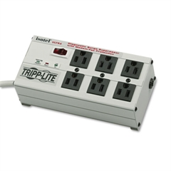 Tripp Lite ISOTEL6ULTRA Isobar Surge Suppressor, 6 Outlets, 6 ft Cord, 3330 Joules
