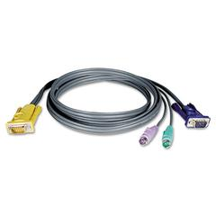 P774-010 10ft KVM Switch PS/2 3-in-1 Cable Kit, 10'