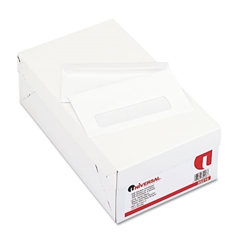 Universal Window Business Envelope, #6 3/4, White, 500/Box