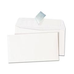 Universal Peel Seal Strip Business Envelope, #6 3/4, White, 100/Box
