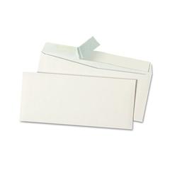 Universal Peel Seal Strip Business Envelope, #9, White, 500/Box