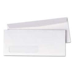 Universal Window Business Envelope, Side, #10, White, 500/Box