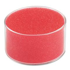 "Universal Sponge Cup Moistener, 3"" Dia, Clear"