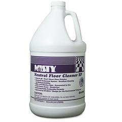 Neutral Floor Cleaner EP, Lemon, 1gal Bottle, 4/Carton