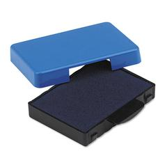 Trodat T5430 Stamp Replacement Ink Pad, 1 x 1 5/8, Blue