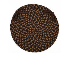"Mayflower Brown Fudge 15"" Chair Pad"