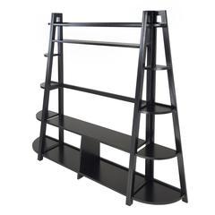 Winsome Wood Adam 3Pc Tv Stand With Corner Shelf