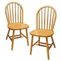 Winsome Wood Windsor 2-Pc Set Beech, 17.5 x 16.5 x 37, Beech