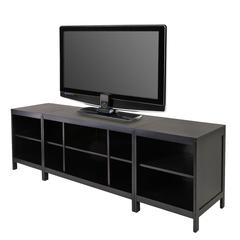 Winsome Wood Hailey 3Pc Media Center, Modular