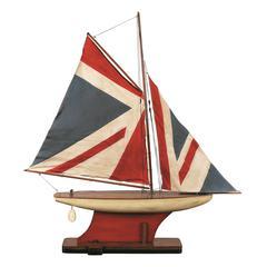 Authentic Models Union Jack Pond Yacht