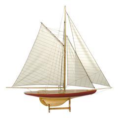 Authentic Models Sail Model Defender, 1895