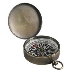 Authentic Models Small Compass, Bronzed