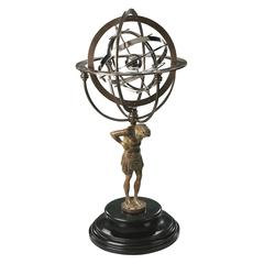 Authentic Models 18th C. Atlas Armillary