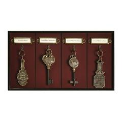 Authentic Models Grand Hotel key Rack