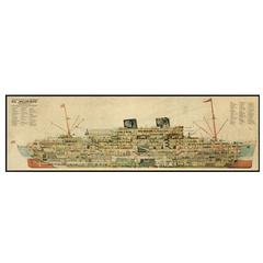 1930s Steamer Cross Section