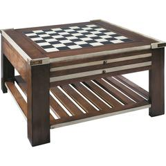 Authentic Models Game Table, Ivory