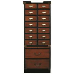 Collectors Cabinet II, Drawers