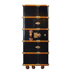 Authentic Models Stateroom Armoire, Black