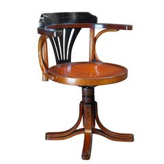 Authentic Models Purser's Chair, Black