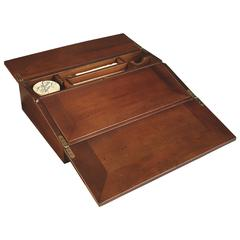 Authentic Models Campaign Lap Desk, French Finish