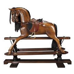Authentic Models Victorian Rocking Horse
