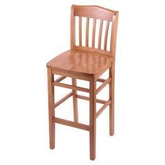 "Holland Bar Stool Co. 3110  25"" Stool with Medium Finish, Medium Seat"