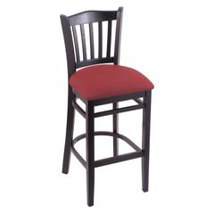 "3120 30"" Stool with Black Finish, Allante Wine Seat"