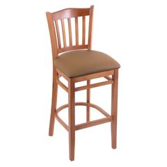 "Holland Bar Stool Co. 3120  30"" Stool with Medium Finish, Allante Beechwood Seat"