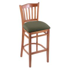 "3120 30"" Stool with Medium Finish, Axis Grove Seat"
