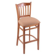 "3120 25"" Stool with Medium Finish, Axis Summer Seat"