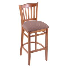 "3120 30"" Stool with Medium Finish, Axis Willow Seat"