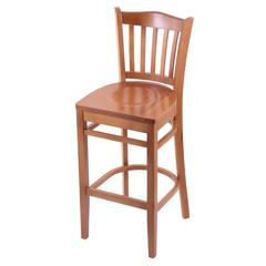 "Holland Bar Stool Co. 3120  25"" Stool with Medium Finish, Medium Seat"