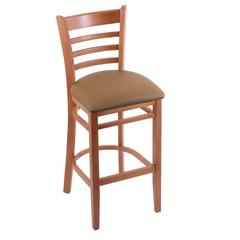 "Holland Bar Stool Co. 3140  30"" Stool with Medium Finish, Allante Beechwood Seat"