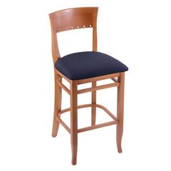 "3160 30"" Stool with Medium Finish, Axis Denim Seat"