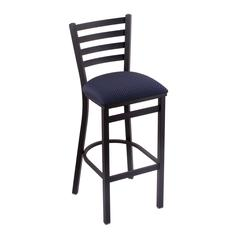 "400 Jackie 25"" Stool with Black Wrinkle Finish, Axis Denim Seat"