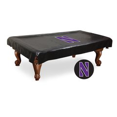 Northwestern Billiard Table Cover