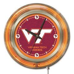 Virginia Tech Neon Clock