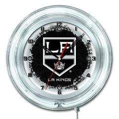 "Los Angeles Kings 19"" Neon Clock"