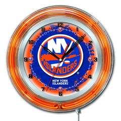 "New York Islanders 19"" Neon Clock"