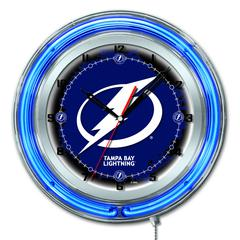 "Tampa Bay Lightning 19"" Neon Clock"