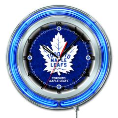 "Toronto Maple Leafs 19"" Neon Clock"