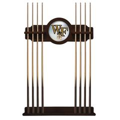 Wake Forest Cue Rack in English Tudor Finish