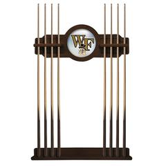 Wake Forest Cue Rack in Navajo Finish