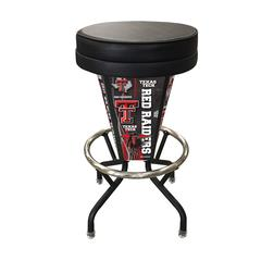Texas Tech Lighted Bar Stool