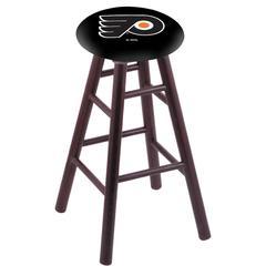 Philadelphia Flyers Bar Stool w/Black Background